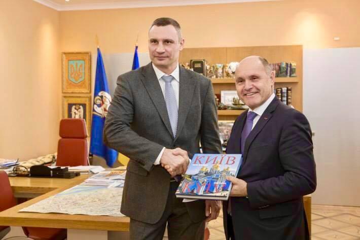Візит Президента Національної Ради Австрії в Україну