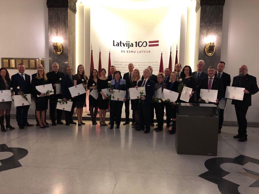 Олег Веретенніков відвідав Прийом в Ризі з нагоди 98-ї річниці Міжнародного визнання Латвійської Республіки
