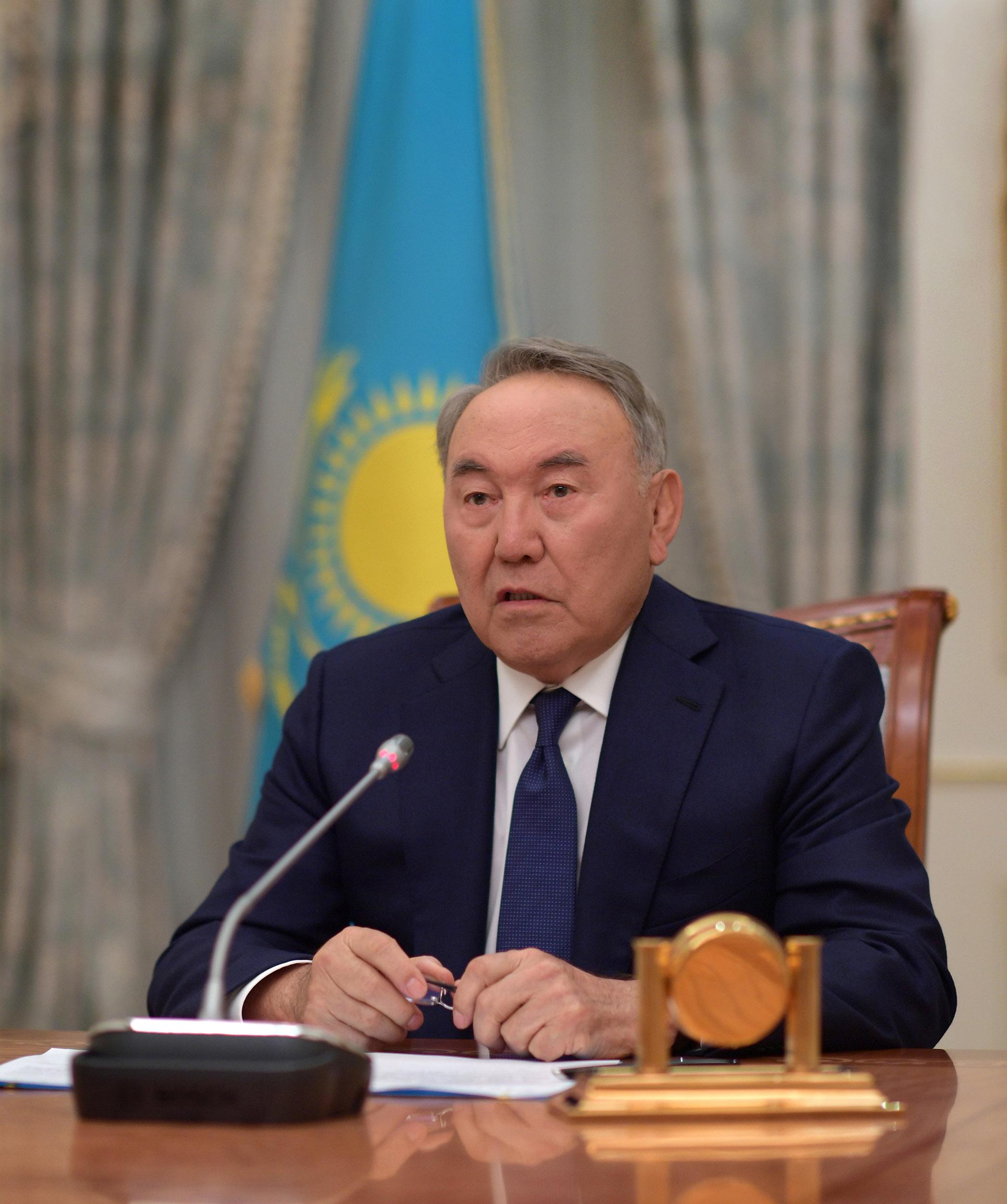 Звернення Глави держави Нурсултана Назарбаєва до народу Казахстану