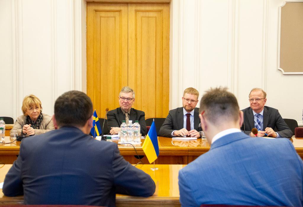 Співпраця України та Швеції у протидії безпековим загрозам