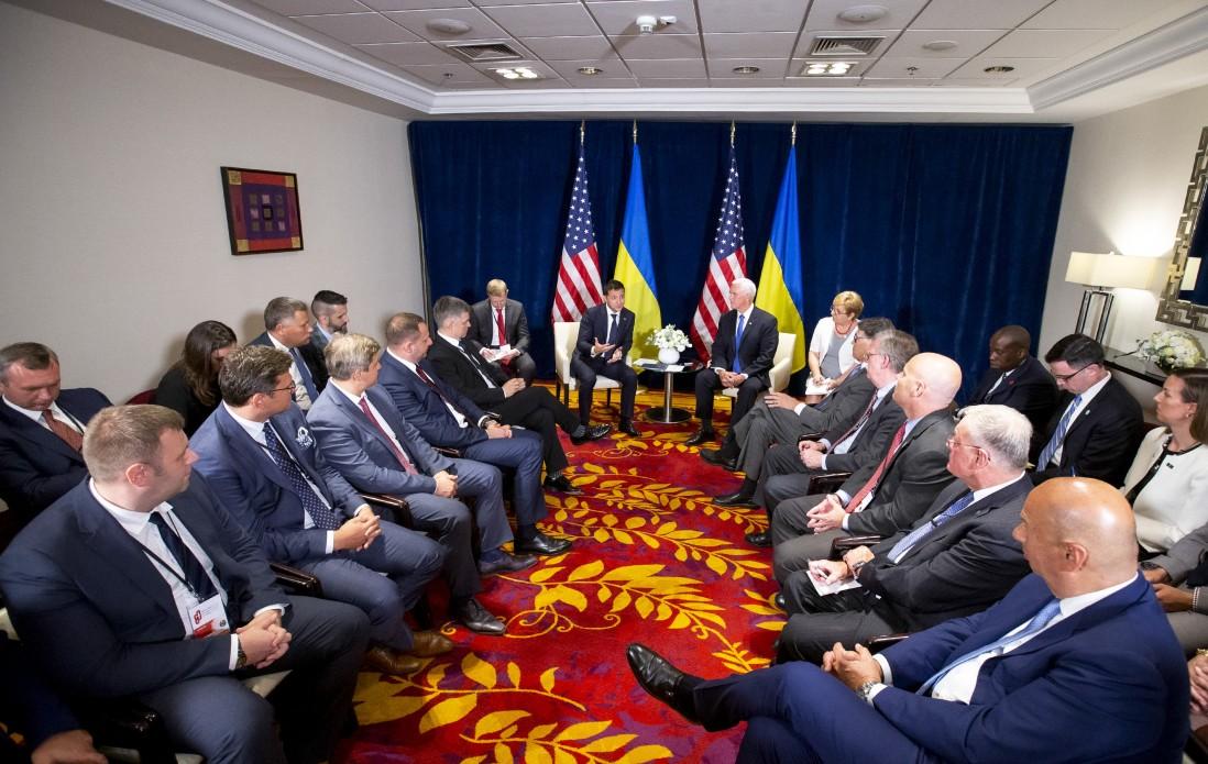 Володимир Зеленський зустрівся з Віце-президентом США