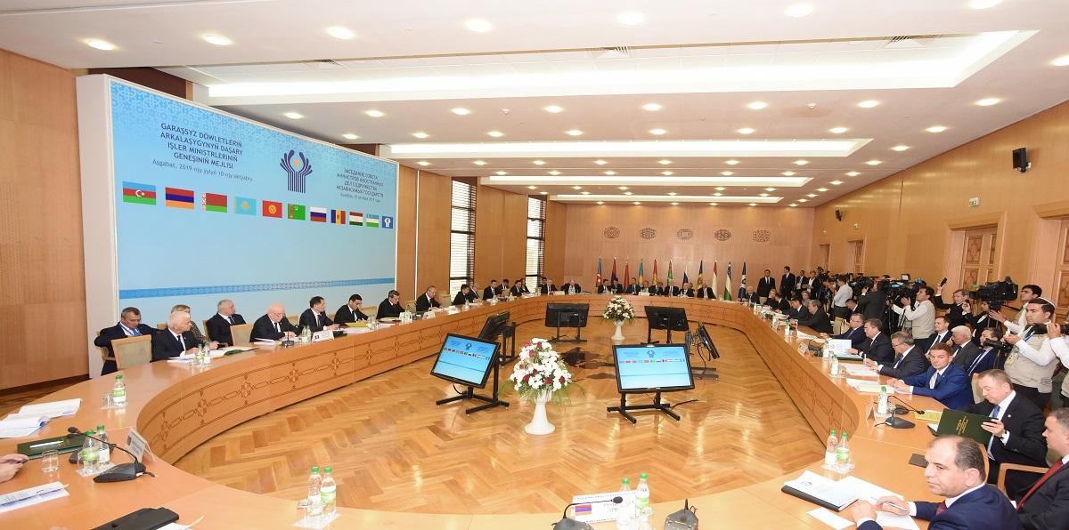 В Ашхабаде прошло заседание совета министров иностранных дел государств-участников СНГ