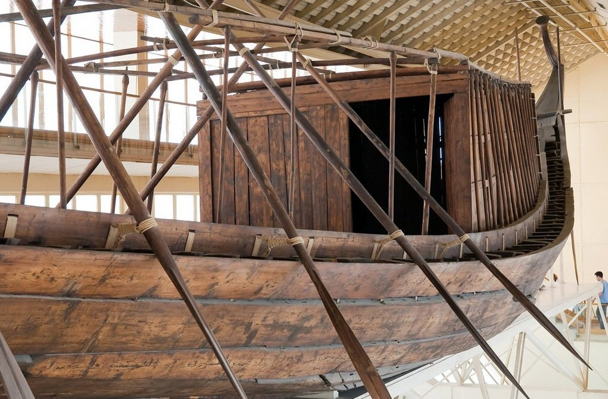 Khufu's first solar ship will be handed over to the Great Egyptian Museum in June