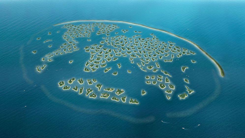 На искусственных островах Дубая откроется самый длинный частный пляж