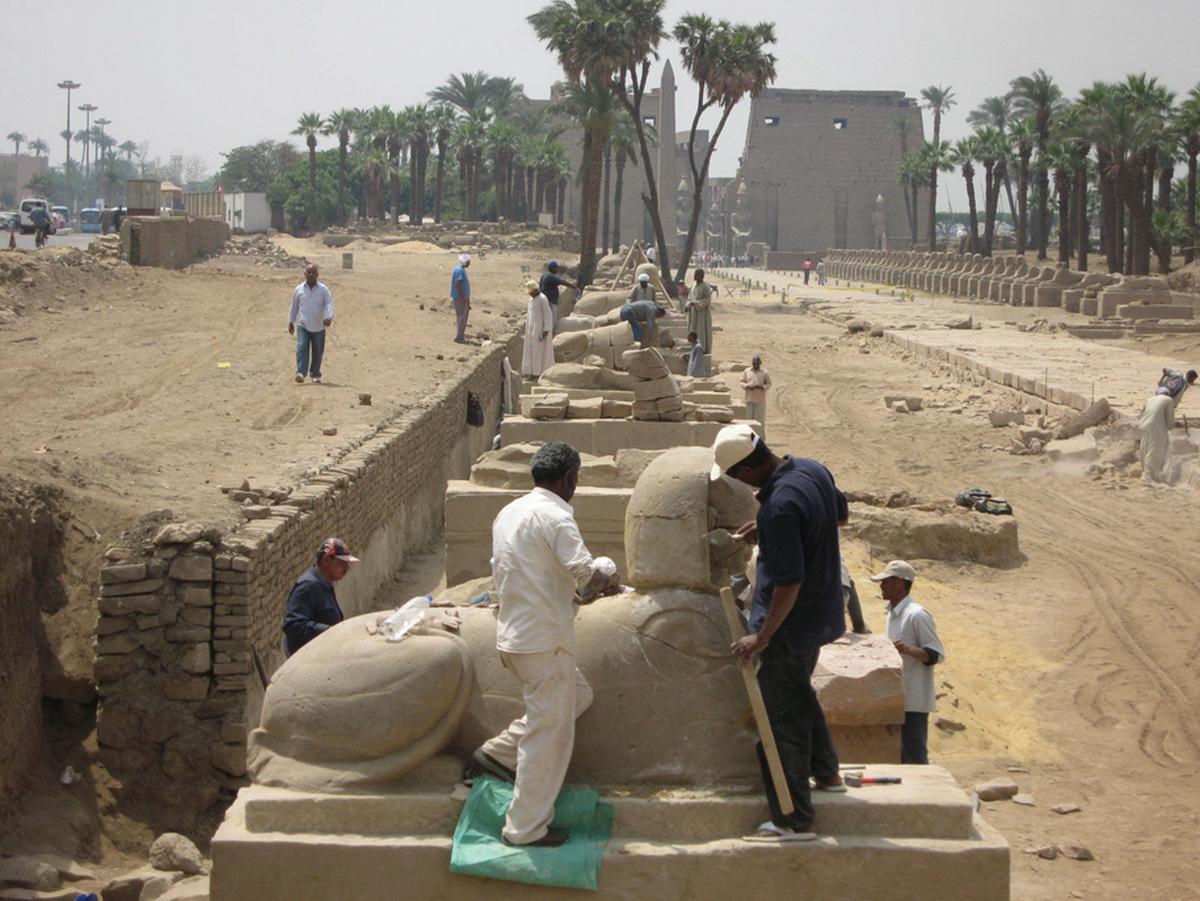 Єгипет анонсував відкриття Проспекту Сфінксів та черговий королівський парад