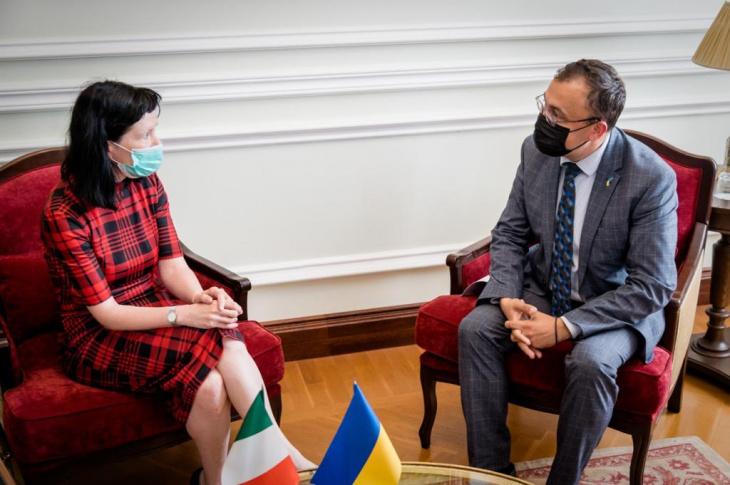 В Україні відкрили посольство Ірландії